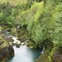 A canyon on the Elwha River.