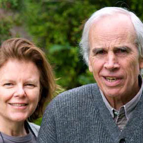 Kris and Doug Tompkins, at their home in Reñihué, Chile, 2009.