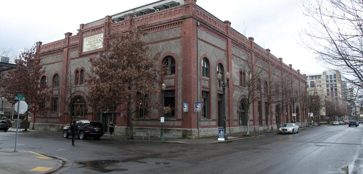 Exterior view of Ecotrust Natural Capital Center in Portland