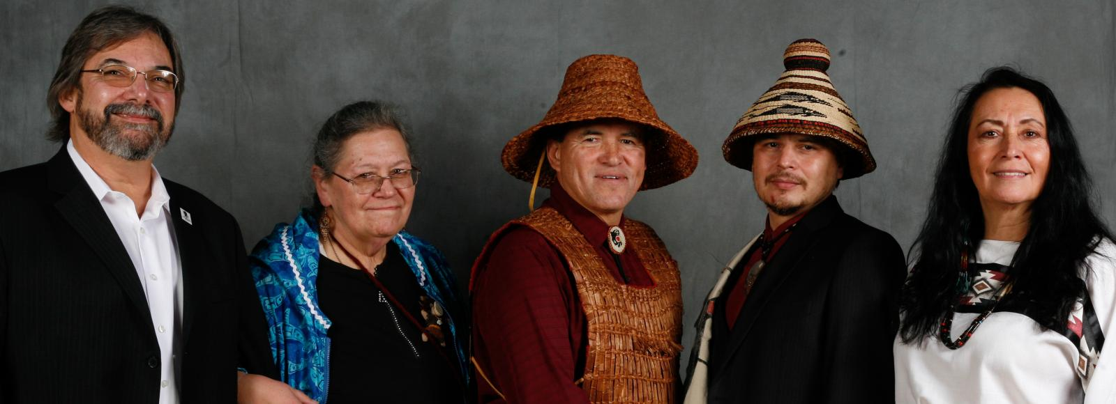 2012 Ecotrust Indigenous Leadership Award honorees