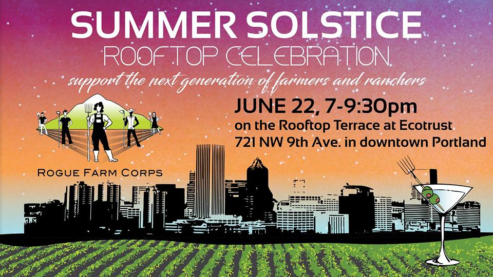 Rogue Farm Corps Summer Celebration