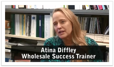 Atina Diffley, Wholesale Success trainer