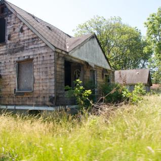 Abandoned house in Brightmoor