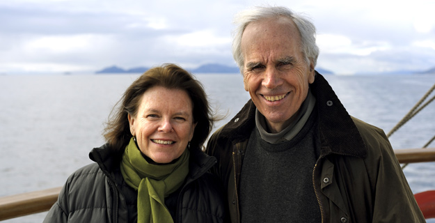 Kris and Doug Tompkins are working for a new economy Photo: Tompkins Conservation website