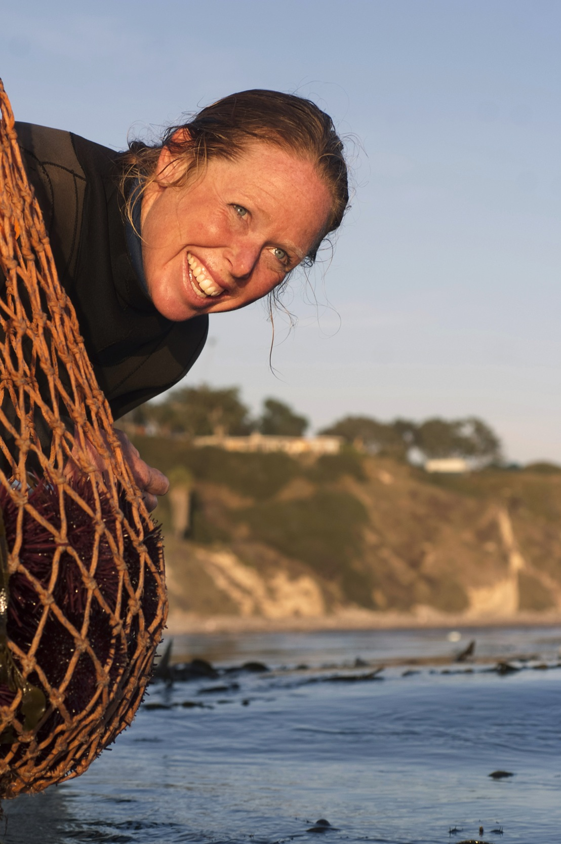 Stephanie Mutz serves as a go-between for fish harvesters and communities in Santa Barbara. Photo: Fran Collin