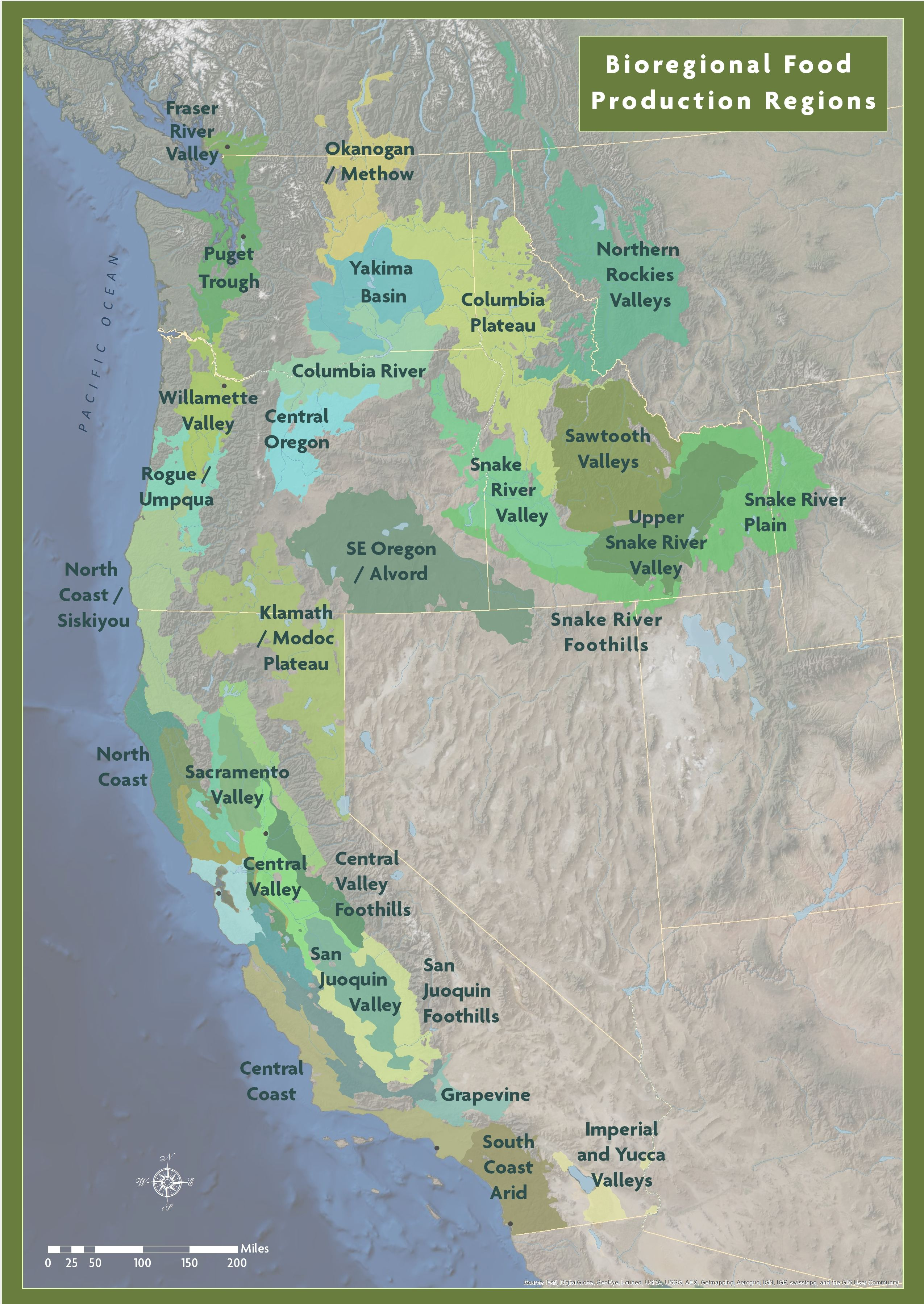 2014—Agro-Ecological Zones: We established new agricultural zones based on environmental and human factors. As we begin to model climate change across the region, this mapping system will help us understand how factors like temperature or water will be affected in each of our zones.