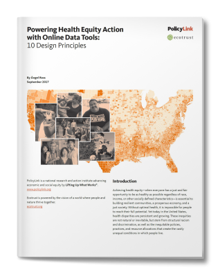 Powering Health Equity Action with Online Data Tools: 10